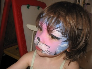 Josie face painting